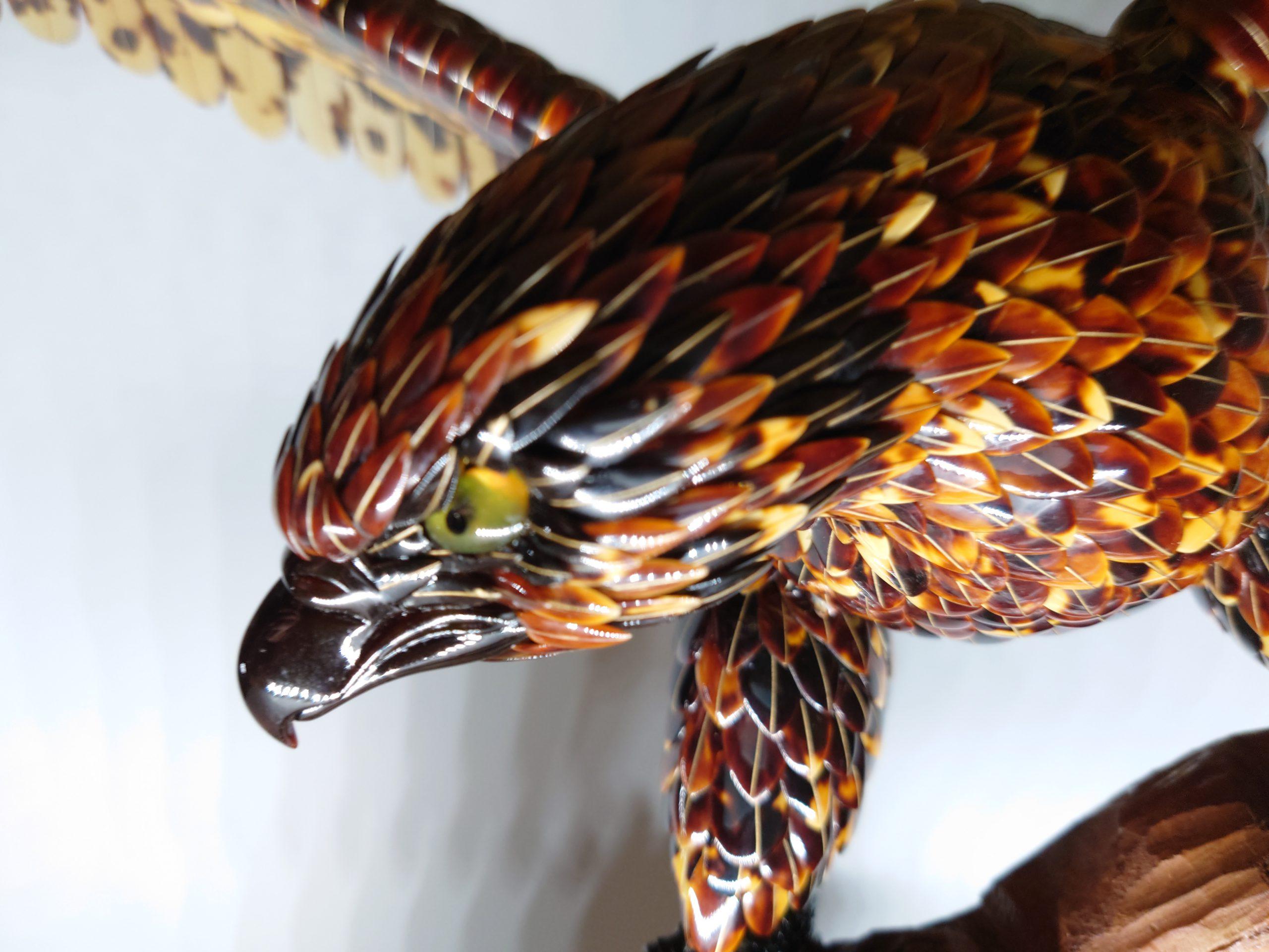 岩頭の鷲3